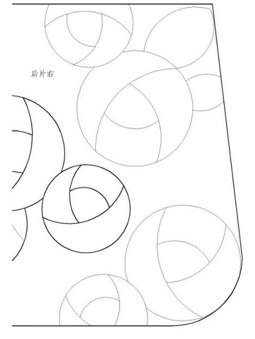 Пэчворк. Сумочка и косметичка с розочками (1) (514x684, 145Kb)