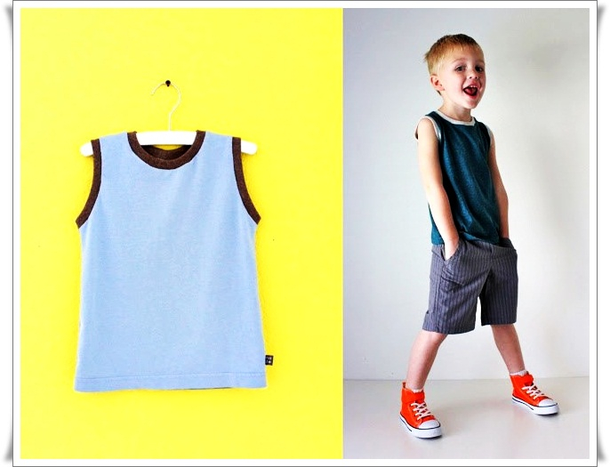 Как сшить ребенку футболку 42