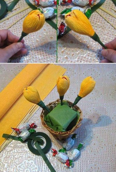 цветы из гофрированной бумаги (2) (397x591, 453Kb)
