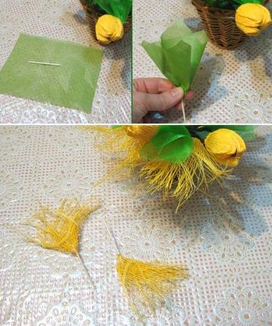 цветы из гофрированной бумаги (4) (391x467, 352Kb)