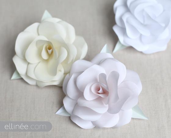 Как сделать белый цветок своими руками
