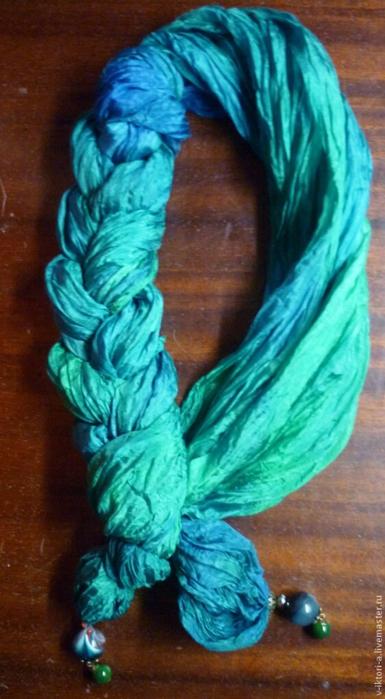 丝巾的新系法 - maomao - 我随心动