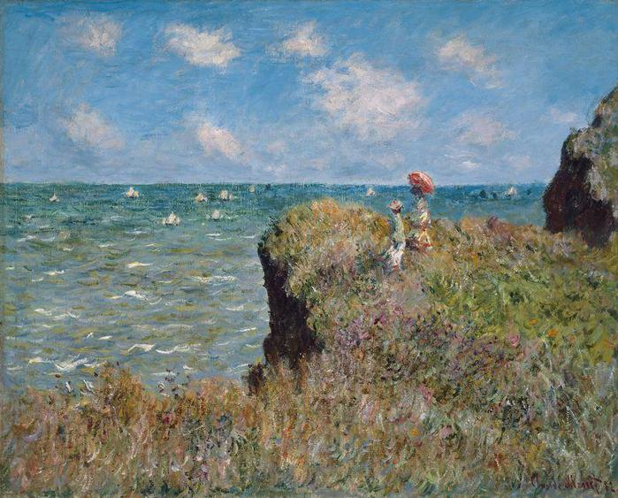 2382183_Monet_ClaudeClifftop_Walk_at_Pourville (700x563, 84Kb)