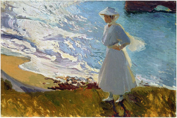 2382183_Maria_at_the_beach_biarritz_1906__Joaquin_Sorolla (700x466, 135Kb)