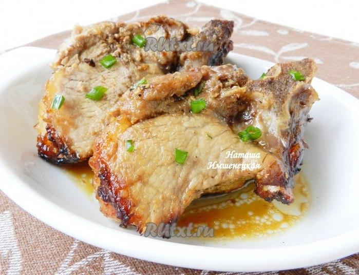 Рецепты свинина в медовом соусе в духовке
