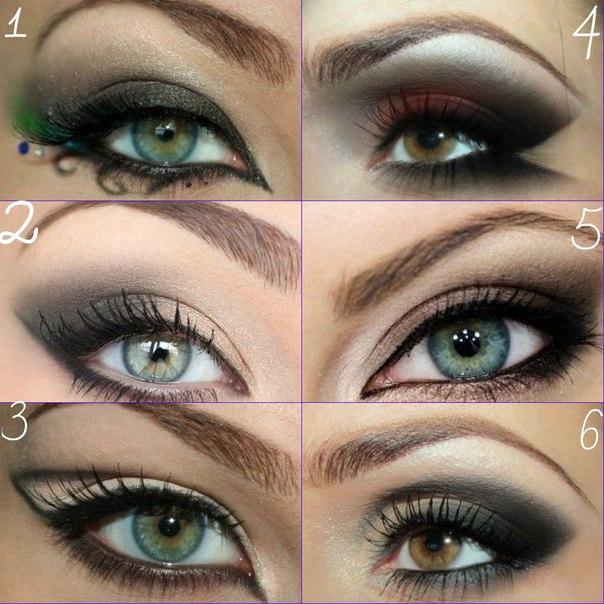 Профессиональные красивый макияж