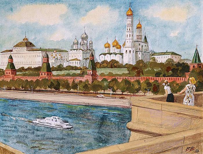 виды современной москвы: