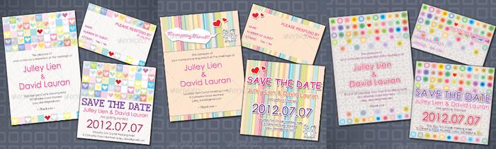 3 Items Lovely Wedding Card1 (700x211, 262Kb)