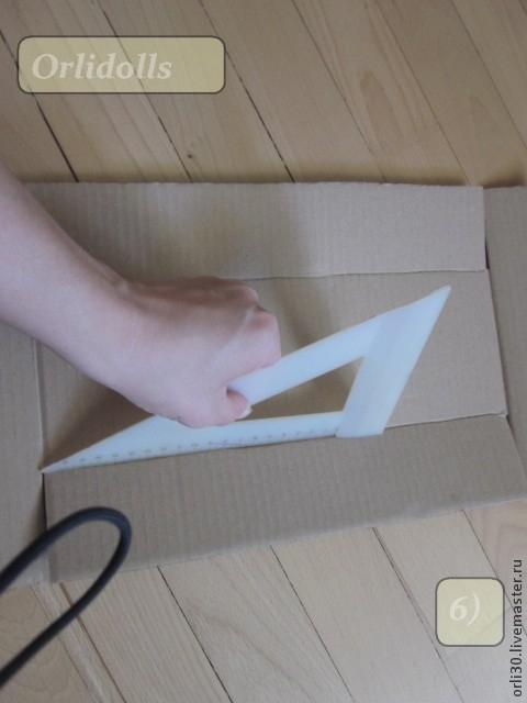 Упаковка своими руками. Коробочка ПРОВАНС из картона (7) (480x640, 182Kb)