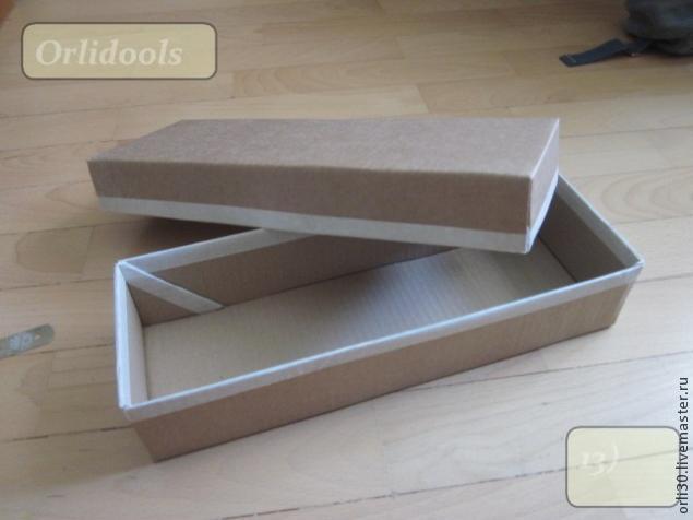 Упаковка своими руками. Коробочка ПРОВАНС из картона (12) (635x476, 128Kb)