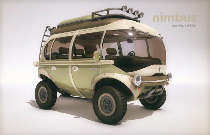 электромобиль Nimbus фото 1 (700x450, 156Kb)