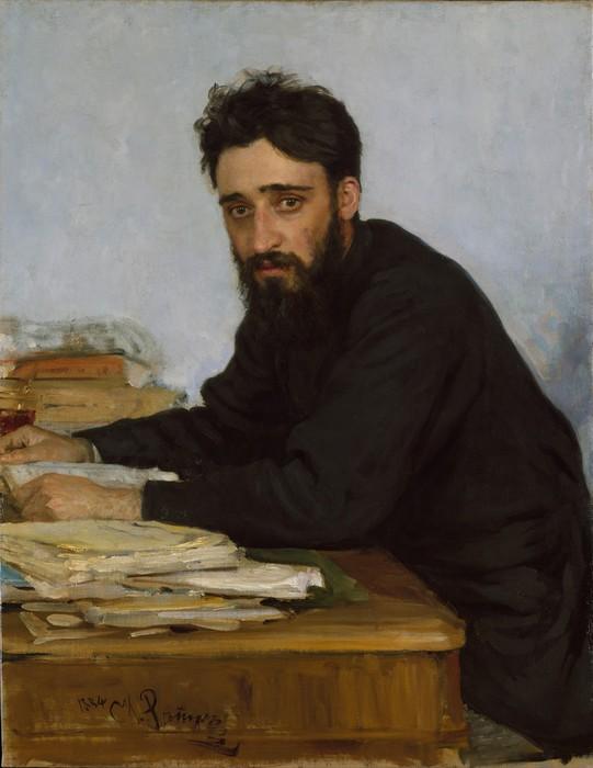 Илья  Репин   Портрет  Всеволода  Михайловича  Гаршина   1884 (541x700, 69Kb)