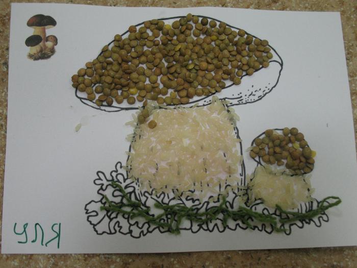 Поделки на тему ягоды и грибы 36