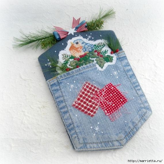 Подвески с вышивкой для новогодней елочки (18) (570x570, 210Kb)