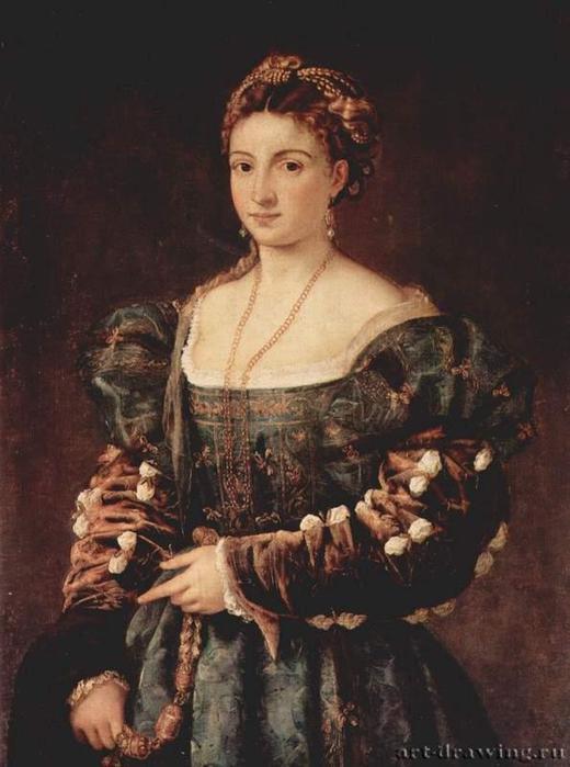 портрет: Изабелла д'Эсте