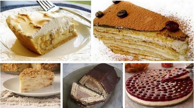 Торты из печенья - 5 лучших рецептов (639x357, 66Kb)