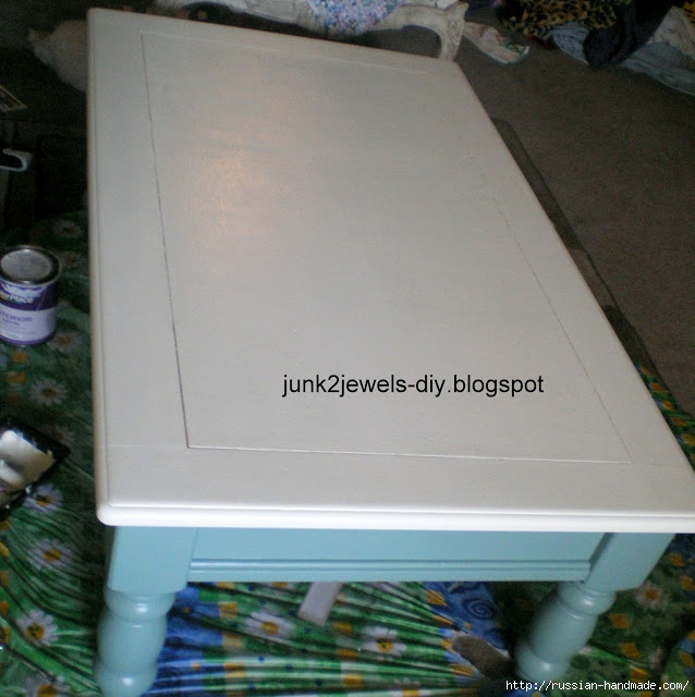 Три варианта переделки мебели. Декорирование журнального столика (11) (638x640, 213Kb)