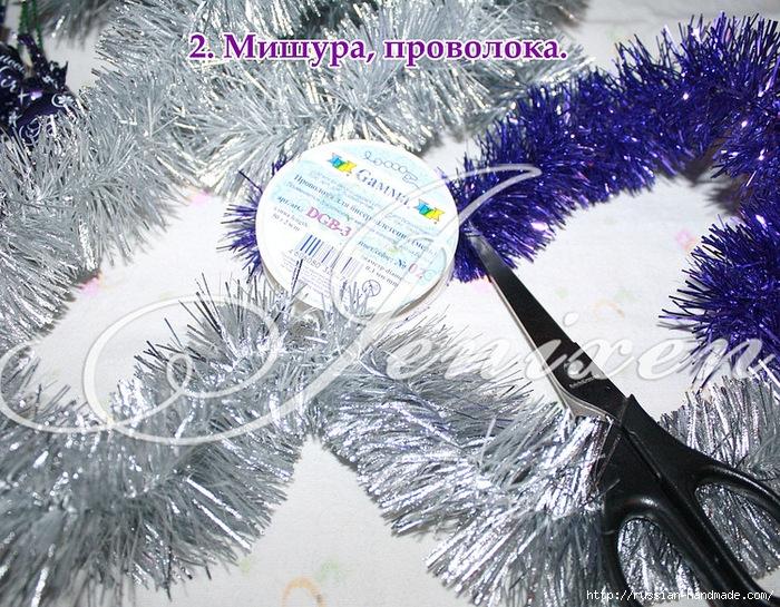Свит-дизайн. Новогодняя подвеска из конфет (2) (700x545, 435Kb)