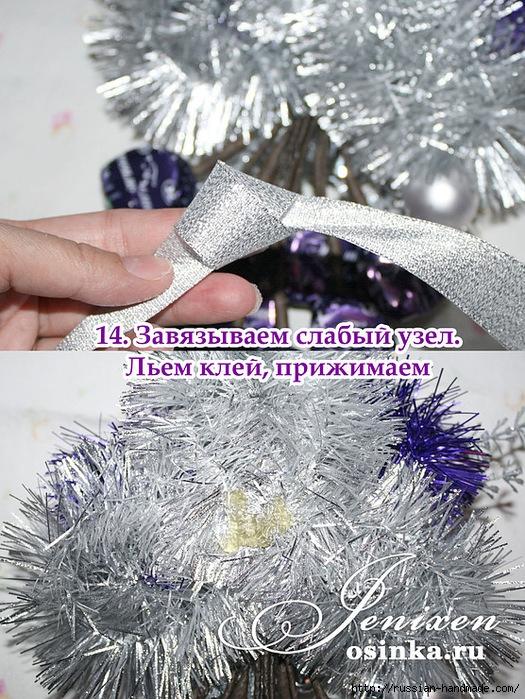 Свит-дизайн. Новогодняя подвеска из конфет (13) (525x699, 386Kb)