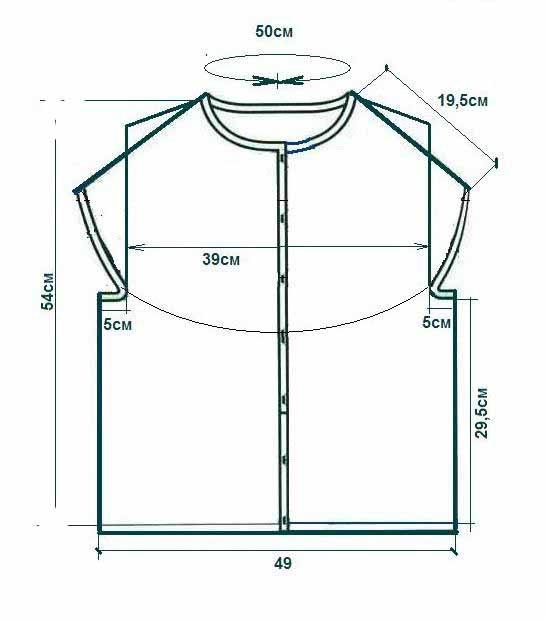 Расчеты для вязания круглой кокетки крючком1 (546x620, 70Kb)