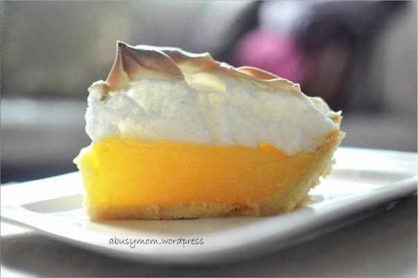 Лимонный пирог с меренгой (604x402, 32Kb)