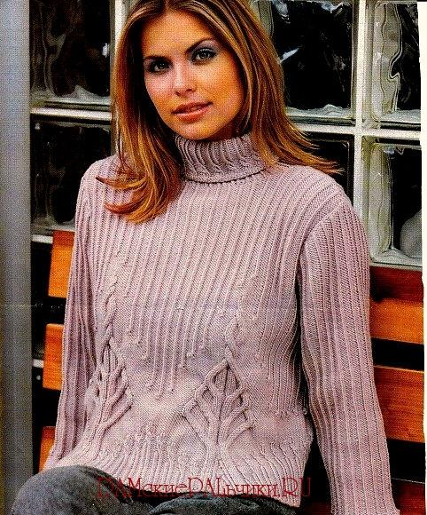 Именно поэтому женский свитер