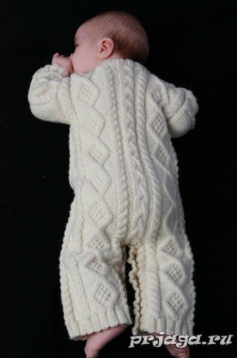 Плед спицами связать для новорожденных