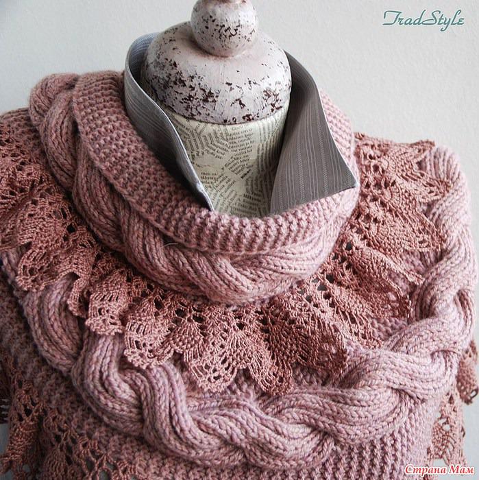 шарф с оборками - Самое