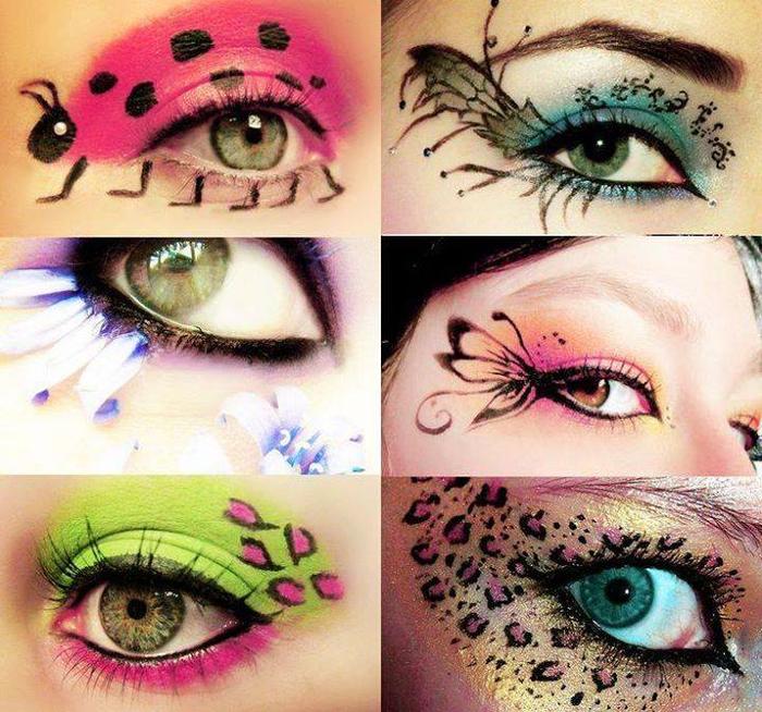 Разные макияжи для детей
