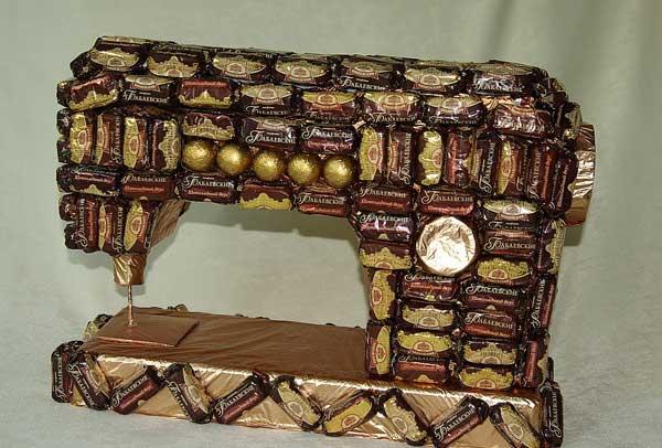 Швейная машинка своими руками фото