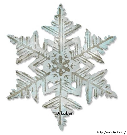 Новогодние теги со снежинками (3) (534x569, 99Kb)