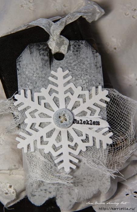 Новогодние теги со снежинками (5) (451x700, 261Kb)
