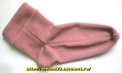 Носки из флиса11 (400x241, 134Kb)