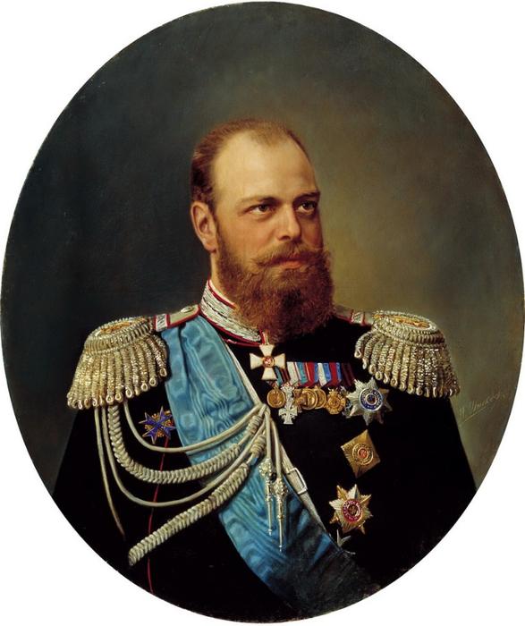 Шильдер А. (1828-1898) Портрет Александра III. Холст, маслоксандр 3 (587x700, 328Kb)