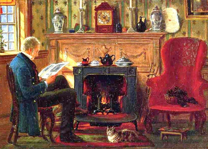 38-edward-lamson-henry-american-painter-1841-1919-reading-by-the-fire-1872  яячц (700x500, 459Kb)