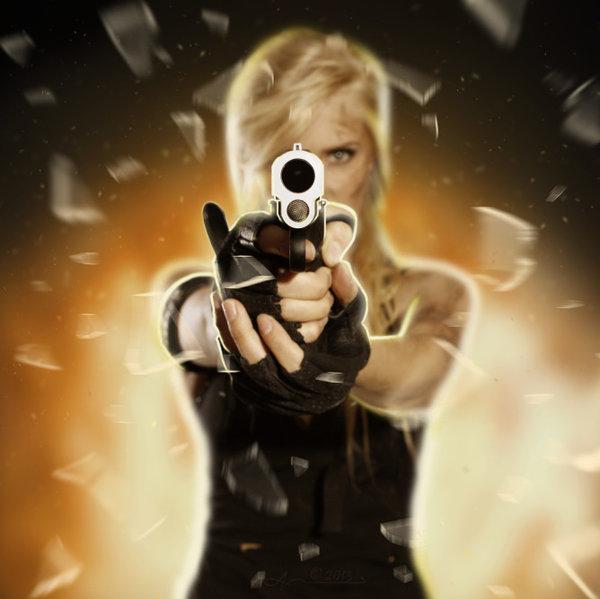 девушка с пистолетом5 (600x599, 174Kb)