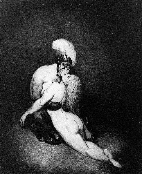 Норман Линдсей (Norman Lindsay), 1879-1969 18+++ c55a522b (489x600, 189Kb)
