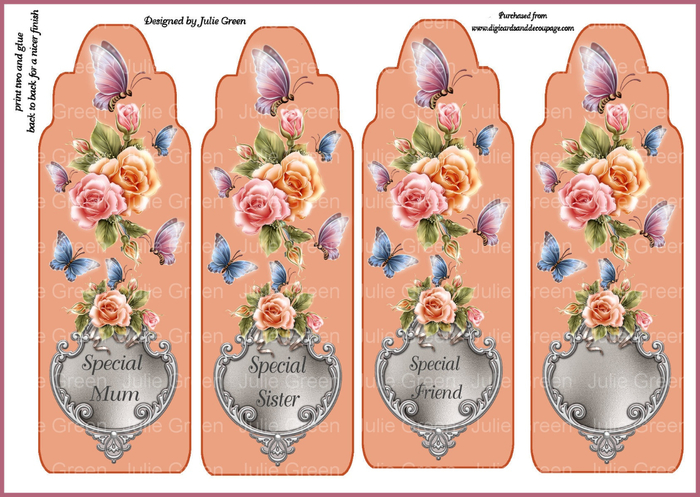 wings and petals bookmarks (700x497, 399Kb)