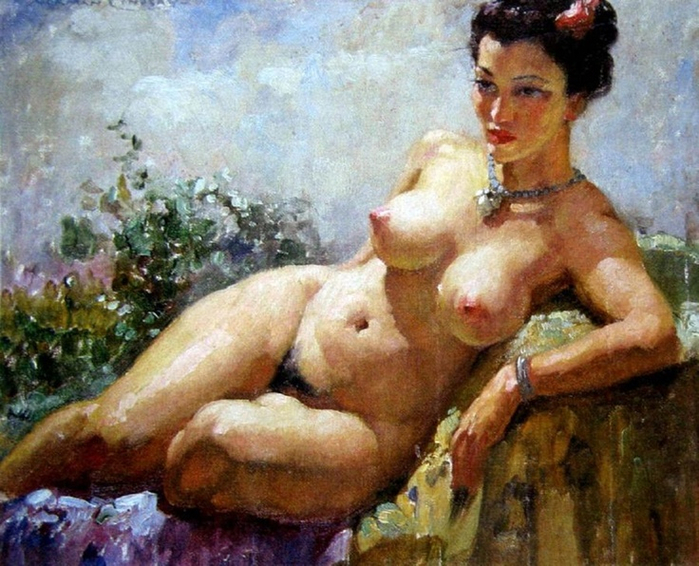 Норман Линдсей (Norman Lindsay), 1879-1969 18+++ 19c3 (700x566, 453Kb)