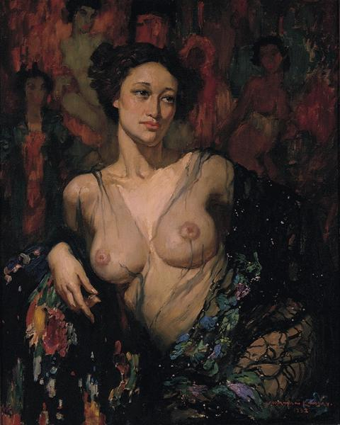 Норман Линдсей (Norman Lindsay), 1879-1969 18+++ 07183967 (480x600, 197Kb)