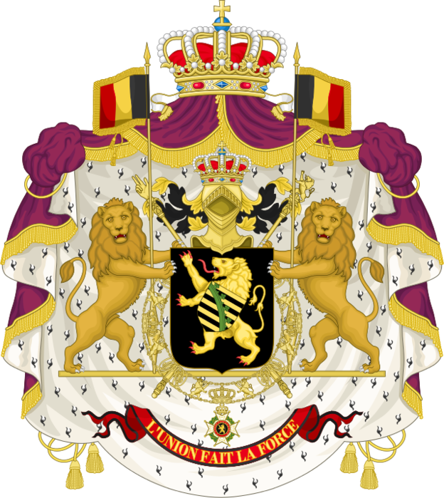 03 Coat_of_Arms_of_the_King_of_the_Belgians_(1837-1921).svg (624x700, 534Kb)
