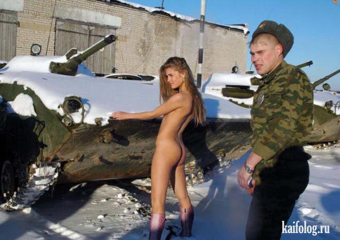 Частный эротический или порно фото альбом 'Света в армии'.