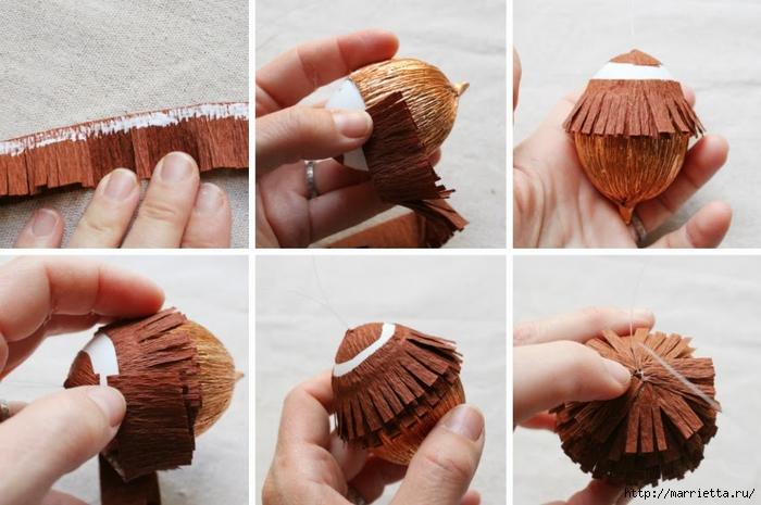 Как сделать орех своими руками 77