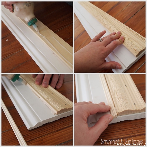 Рамки для картин своими руками из потолочных плинтусов