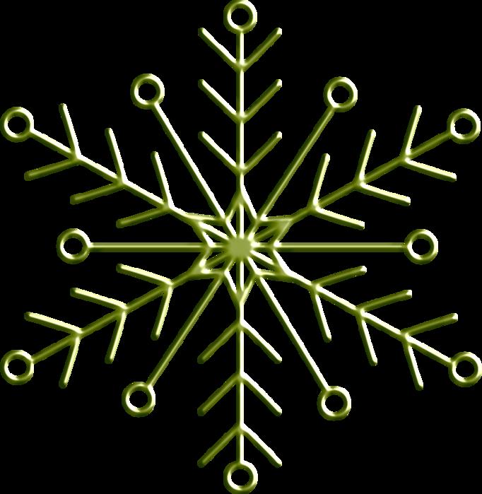 !_heavenly_wire flake green (682x700, 256Kb)