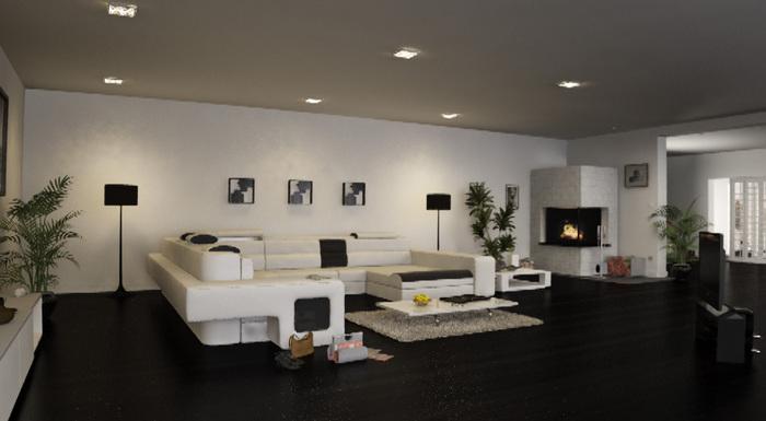 luxus wohnzimmer modern:Luxus Wohnzimmer Bilder Modernes Luxus Wohnzimmer Schoener Wohnen