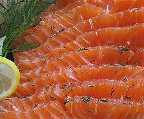 Как сделать слабосоленую рыбу форель
