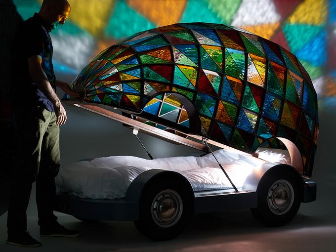 автомобиль кровать дизайнера Доминика Вилкокса 1 (680x510, 427Kb)