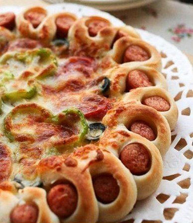 Красивое оформление краев пиццы1 (388x448, 186Kb)