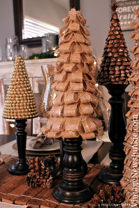Новогодние елки из мешковины (14) (466x700, 353Kb)